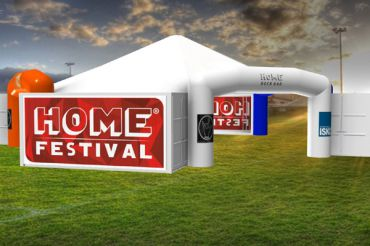 Rendering - Home Rock Bar per l'Home Festival di Treviso